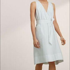 Aritzia babaton size medium white shift dress.